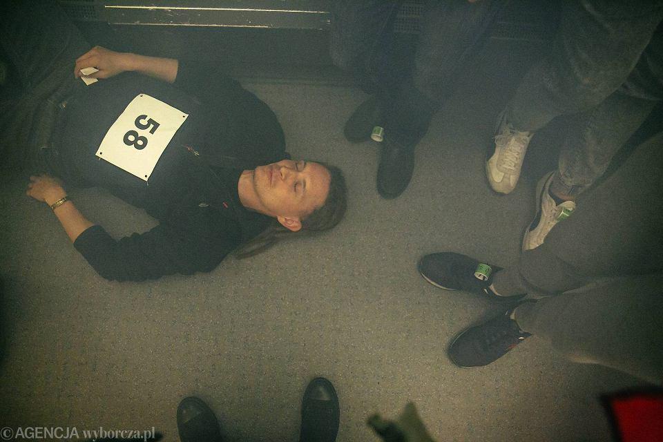 Zdjęcie numer 39 w galerii - Symulacja karambolu z kilkudziesięcioma rannymi. Duże ćwiczenia w tunelu pod Martwą Wisłą [ZDJĘCIA]