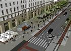 Ul. Świętokrzyska: mniej samochodów, więcej zieleni. Ulica ma być bardziej przyjazna dla rowerzystów i pieszych