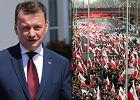 """Błaszczak informuje, że KOD wycofał się z """"prowokacji"""" na 11 listopada. """"Dzięki moim wypowiedziom..."""""""