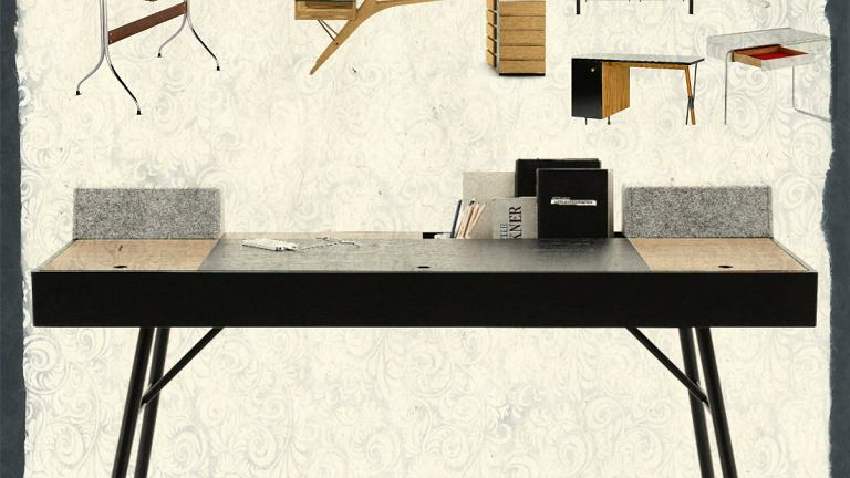 Eleganckie biurka do gabinetu