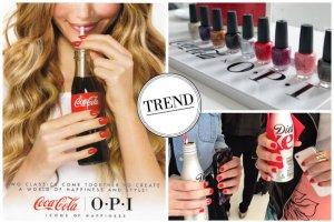 OPI wsp�pracuje z mark� Coca Cola i tworzy lini� lakier�w do paznokci inspirowanych s�ynnymi napojami. Szukamy podobnych odcieni!