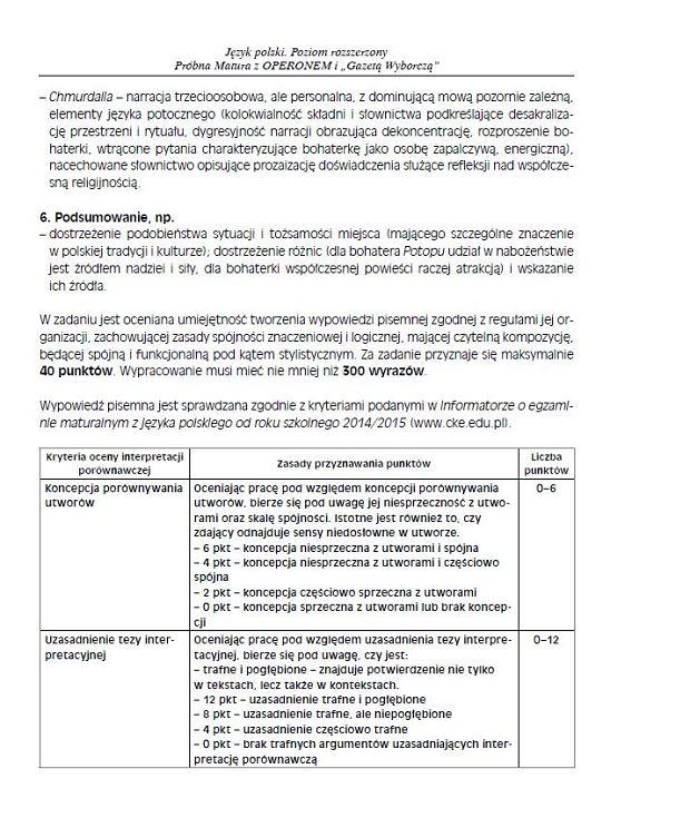 język polski poziom podstawowy próbna matura z operonem