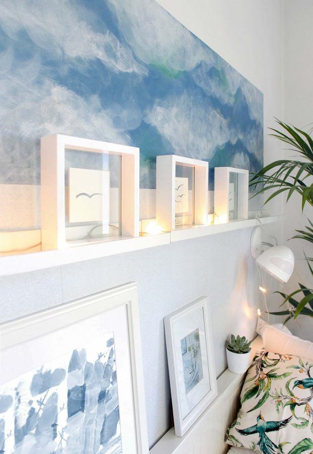 DIY: Niebo na ścianie. Jak namalować chmury?