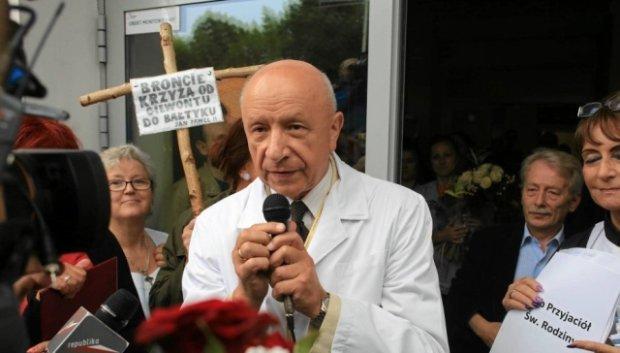 """Prof. Chazan bez zarzut�w. Naczelna Izba Lekarska: """"Nie naruszy� etyki zawodowej, odmawiaj�c aborcji"""""""