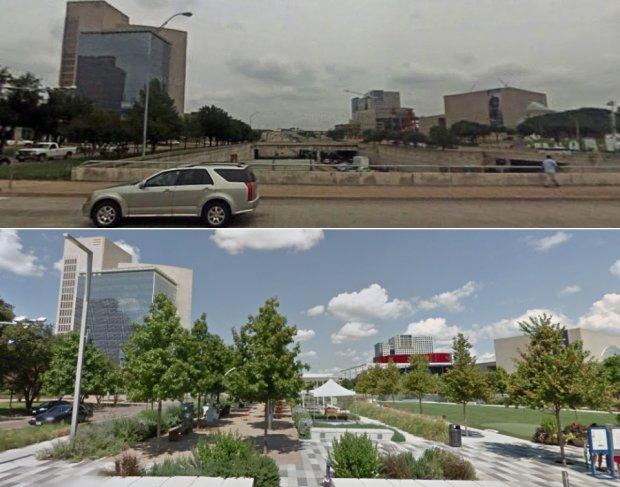 Klyde Warren Park, Dallas