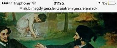 Magda Gessler na Facebooku