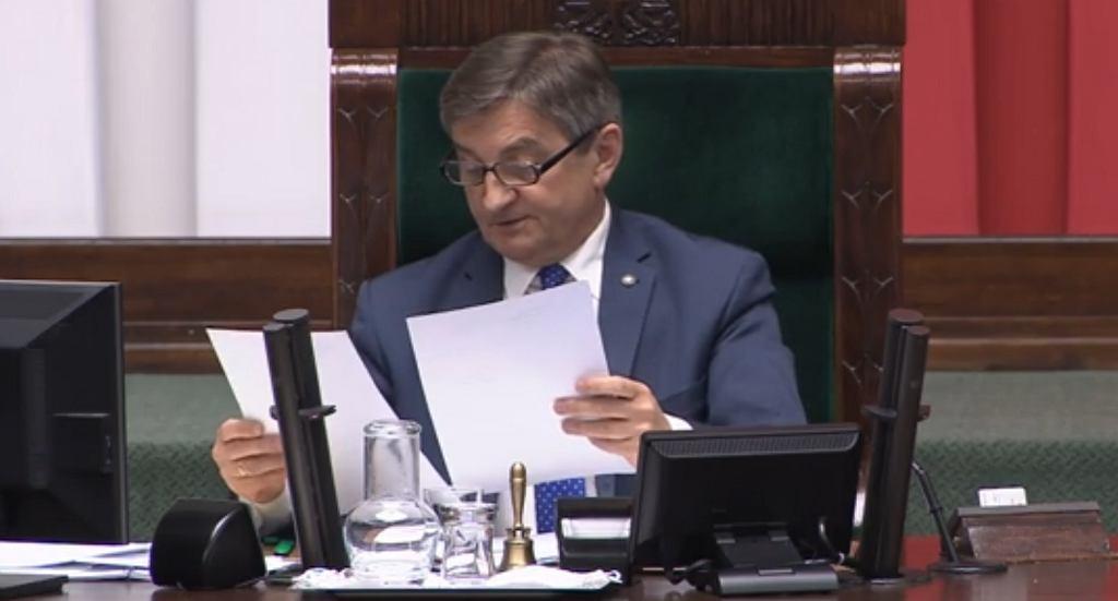 Sejm. Marek Kuchciński odrzuca wnioski