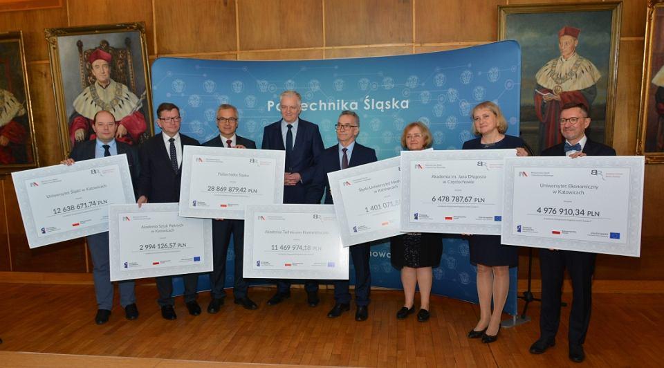 Uczelnie dostały dofinansowanie w ramach konkursu 'Zintegrowane Programy Uczelni', ogłoszonego przez NCBR