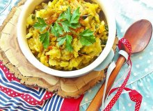 Wegańska kapusta z curry - ugotuj