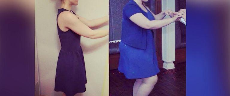Mimo niedoczynności tarczycy, w ciągu roku, schudła 36 kilogramów. Zobacz, jak wyglądała metamorfoza Kasi