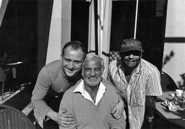 Borys Szyc, Lejb Fogelman i Jean-Paul Belmondo, przypadkowe spotkanie w Saint-Tropez