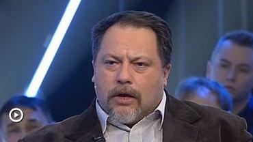 Marcin Celiński na planie jednego ze swoich programów