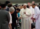 Papież Franciszek podczas pielgrzymki do Korei Południowej