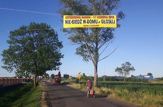 17 czerwca w Baranowie odbędzie się referendum ws. budowy CPK