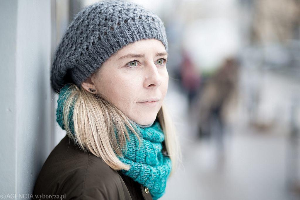 Anna Król, autorka książek o Jarosławie Iwaszkiewiczu (fot. Bartosz Bobkowski/AG)