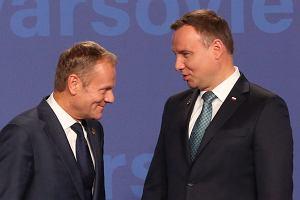 Prezydent Duda gratuluje Tuskowi