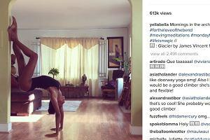 Jeśli jej zdjęcia nie przekonają cię do jogi, to już nic cię nie przekona [WIDEO]