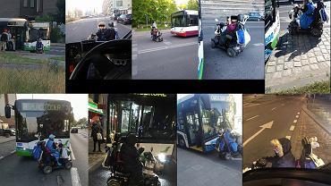 Bogumiła D. blokująca autobusy komunikacji miejskiej