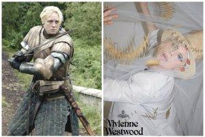 """Gwiazda """"Gry o Tron"""" twarz� kampanii Vivienne Westwood. Gwendoline Christie uwiod�a ju� dwoje projektant�w mody"""