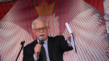 Jan Pietrzak świętuje rocznicę uchwalenia Konstytucji 3 maja, 2015 r.