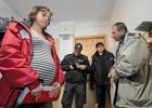 Kobieta w 26. tygodniu ci��y wyrzucona z mieszkania w Poznaniu. Pomogli anarchi�ci, a nie policja [WIDEO]