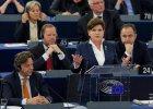 Podczas debaty w europarlamencie Szydło chciała czarować europosłów. Ale nie cofa się z pozycji PiS nawet na milimetr [19.01.2016]