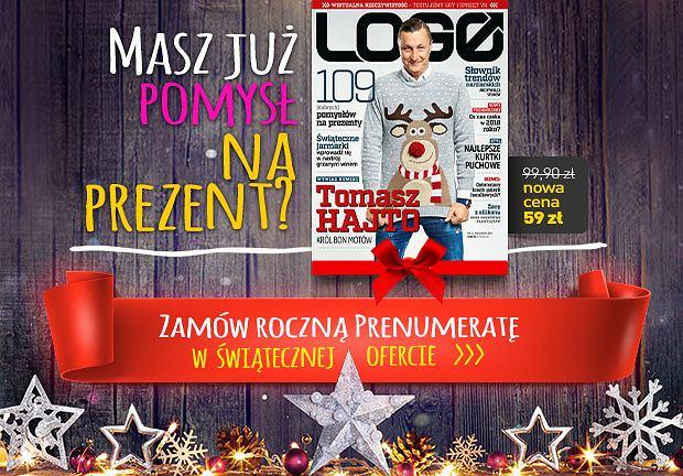 Zachęcamy do kupna świątecznej prenumeraty LOGO