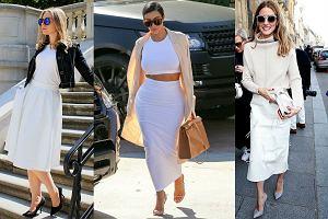 Fokus na modę: biała spódnica na różne sposoby