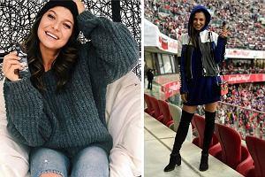 Ubrania oversize - jak je nosić, żeby nadal wyglądać szczupło? Zobaczcie, jaki sposób ma na to Lewandowska!