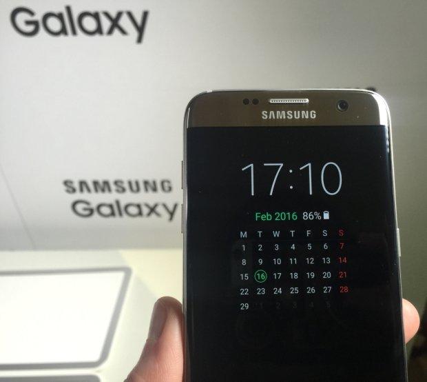 Ekran always on w Samsungu Galaxy S7