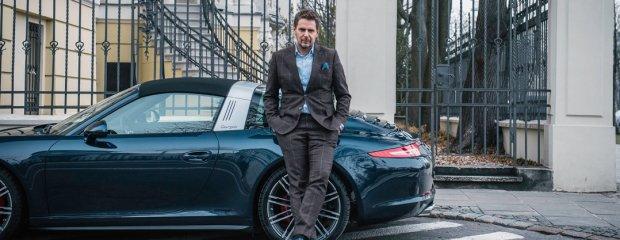 Wojciech Modest Amaro i Porsche 911 Targa