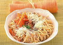 Marchewkowe spaghetti - ugotuj