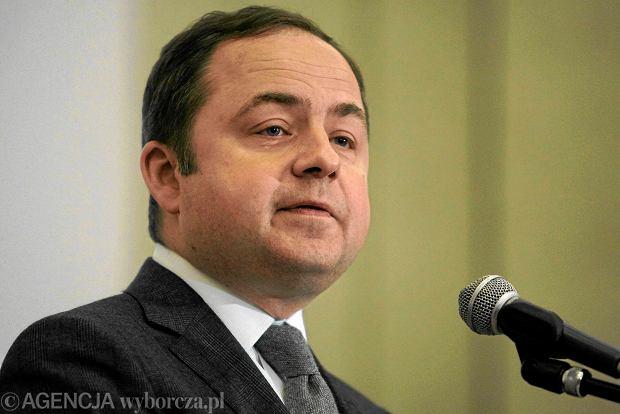 Konrad Szyma�ski, minister ds. europejskich