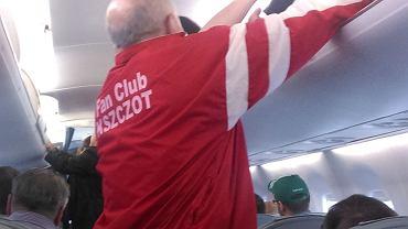 """Moim podstawowym celem było opisywanie mistrzostw, w """"Gazecie Wyborczej, w Sport.pl, na blogu i Twitterze. Oto kilka zdjęć, które przy okazji zrobiłem. Mistrzostwa spotkały mnie, jeszcze zanim mój samolot oderwał się od ziemi w Warszawie. Tym samym lotem podróżowali bowiem członkowie fanklubu Adama Kszczota, późniejszego złotego medalisty na 800 m"""