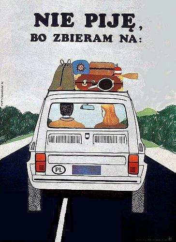 Nie piję, zbieram na Malucha. / fot. img.hopaj.pl