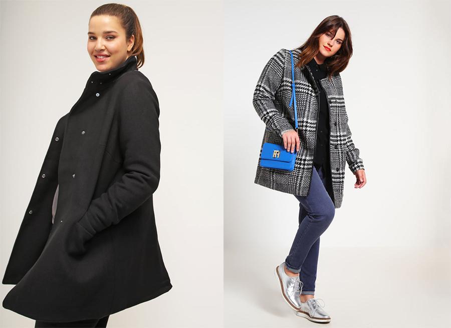 f6079e021b93d5 Płaszcze i kurtki dla puszystych - 30 modeli na jesień i zimę ...