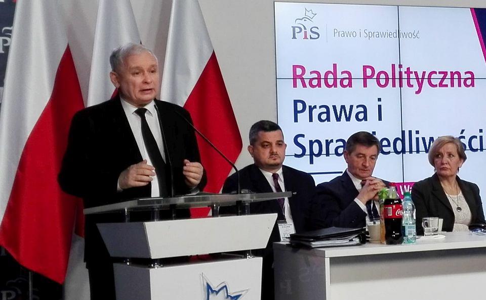 Rada Polityczna partii PIS