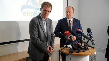 Paweł Adamczyk i Piotr Krzystek
