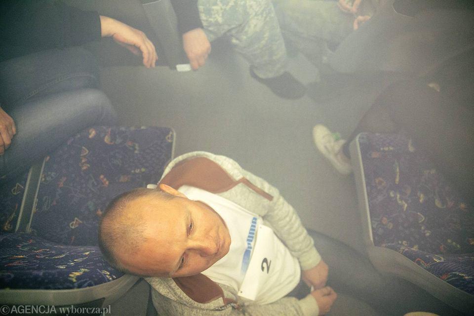 Zdjęcie numer 40 w galerii - Symulacja karambolu z kilkudziesięcioma rannymi. Duże ćwiczenia w tunelu pod Martwą Wisłą [ZDJĘCIA]