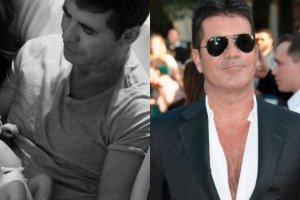 Simon Cowell zosta� ojcem! Zdj�cia maluszka pokaza� na Twitterze