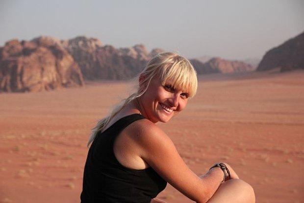 Hania na Wadi Rum