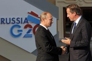 Szczyt G20. Wielka Brytania obra�ona, Putin spotka� si� z Obam�