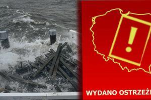 """Orkan """"Barbara"""" nad Polską. Ostrzeżenia IMGW dla całego kraju"""
