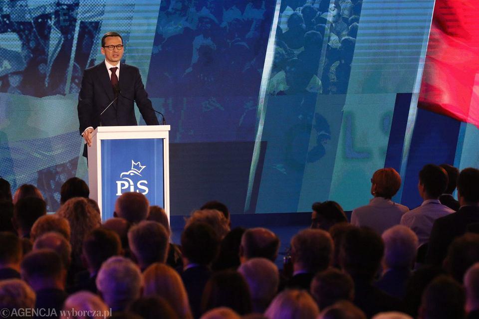 Konwencja Prawa i Sprawiedliwości. Premier Mateusz Morawiecki zapowiedział 'Projekt wyprawka'
