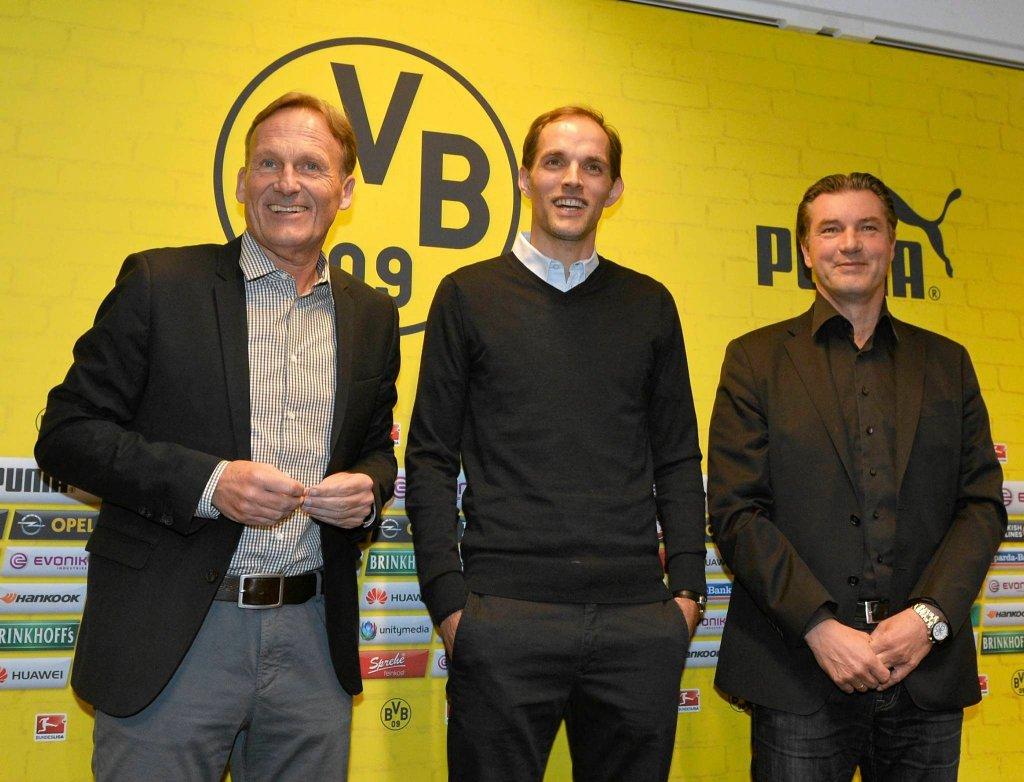 Michael Zorc (z prawej)