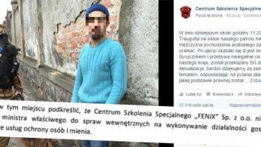 """Pracownik firmy Fenix z """"ujętym"""" w Zgorzelcu Syryjczykiem"""
