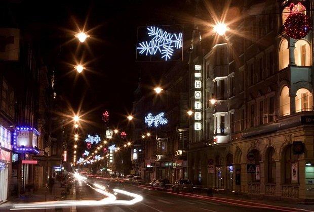 Świateczne ozdoby w Gliwicach