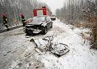 IMGW ostrzega przed opadami marznącego deszczu i śniegu
