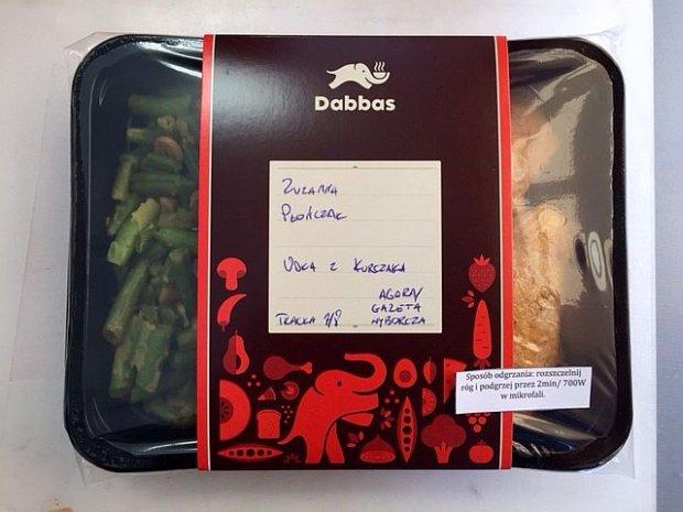 Testujemy obiad z Dabbas