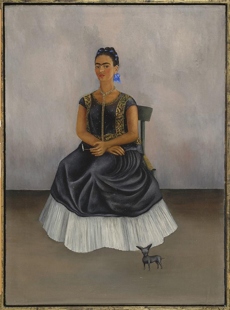 Frida Kahlo. Mój pies Itzcuintli i ja / Materiały prasowe Centrum Kultury Zamek